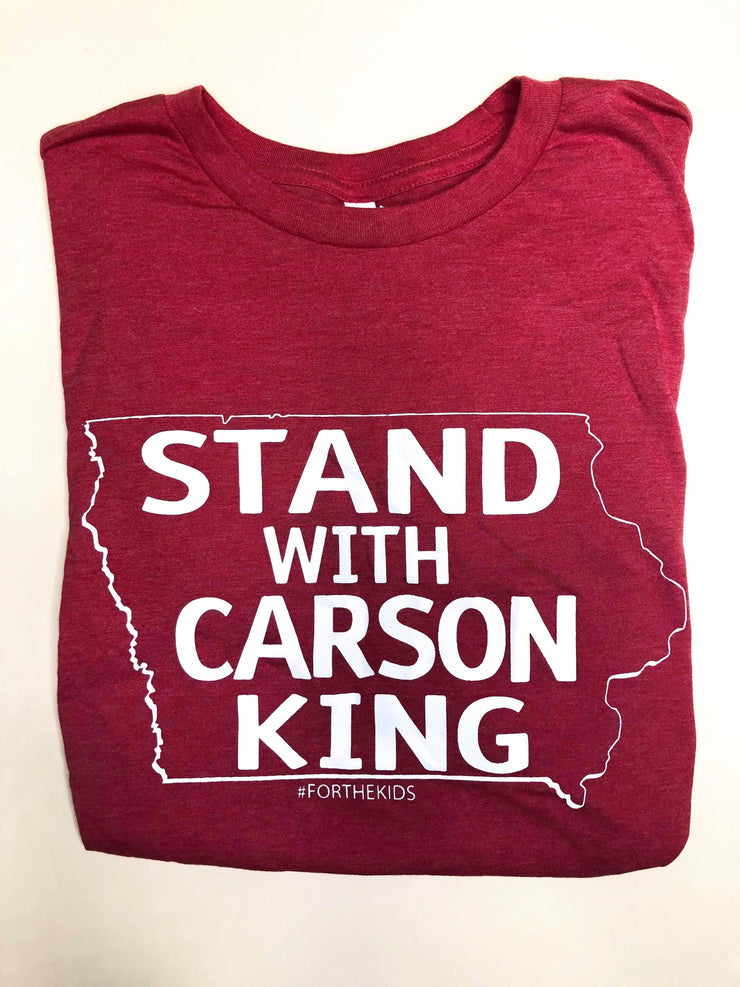 STAND WITH CARSON KING