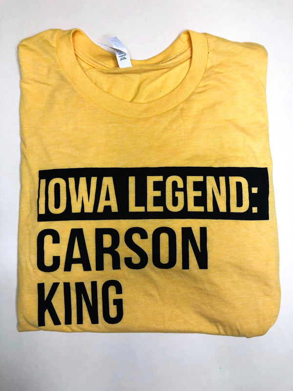 IOWA LEGEND CARSON KING - BAD HABIT BOUTIQUE