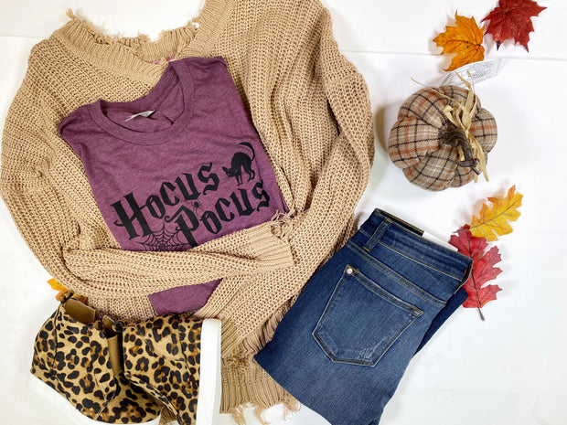 Hocus Pocus T-Shirt, CLOTHING, BAD HABIT APPAREL, BAD HABIT BOUTIQUE