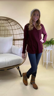 Thermal Long Sleeve Top - Final Sale, CLOTHING, andree by unit, BAD HABIT BOUTIQUE