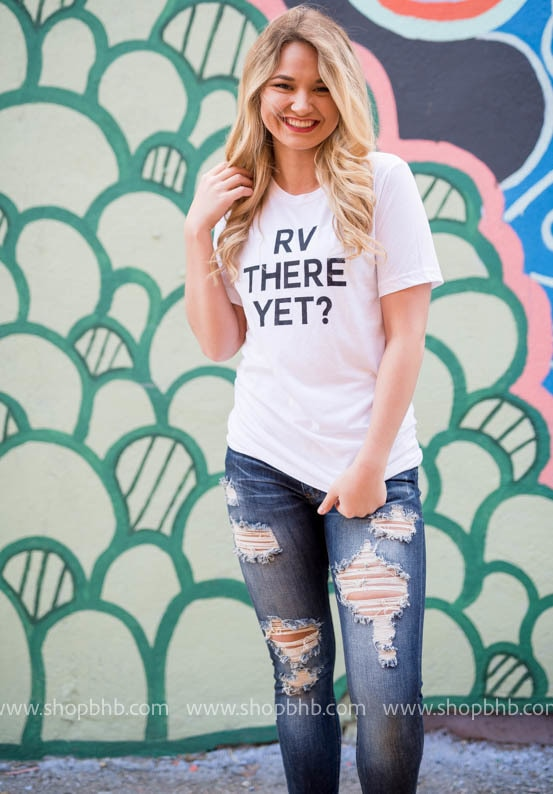 RV THERE YET?  Unisex Tshirt