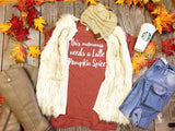 Mama Needs A Latte Pumpkin Spice -copper, CLOTHING, BAD HABIT APPAREL, BAD HABIT BOUTIQUE