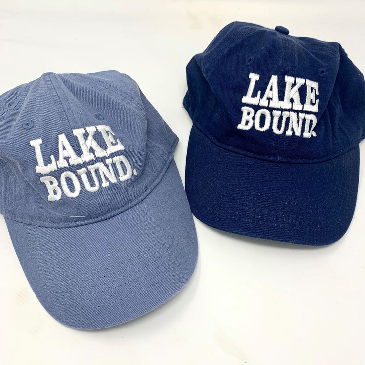 Lake Bound Baseball Hat, ACCESSORIES, BAD HABIT APPAREL, BAD HABIT BOUTIQUE
