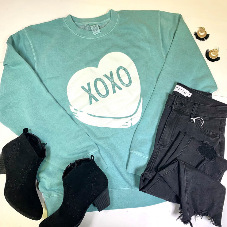 XOXO 'Candy Heart' Sweatshirt