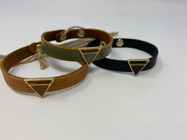 Try Again Leather Bracelet, JEWERLY, Most Wanted USA, BAD HABIT BOUTIQUE