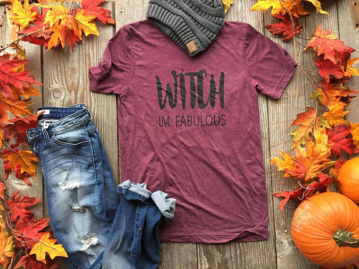 WITCH IM FABULOUS TEE