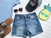 Basic Denim Shorts, SALE, Kan Can, BAD HABIT BOUTIQUE