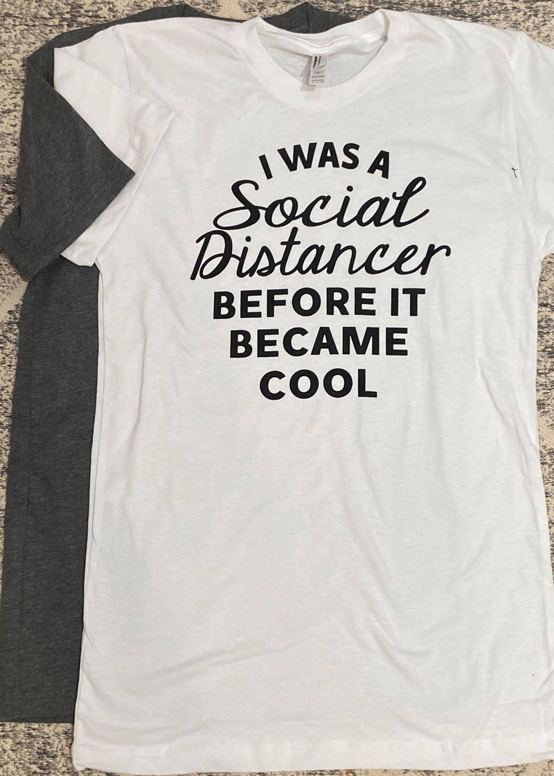 Social Distance Unisex T-shirt, CLOTHING, BAD HABIT APPAREL, BAD HABIT BOUTIQUE