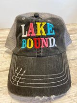 Rainbow Lake Bound Trucker Hat, CLOTHING, BAD HABIT APPAREL, BAD HABIT BOUTIQUE