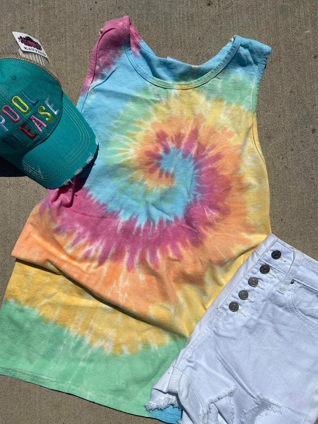 The Taylor Tank Top Tie Dye | FINAL SALE
