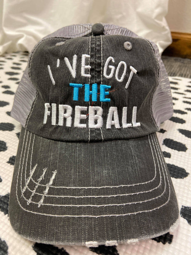 I've Got The Fireball | Trucker Hat, ACCESSORIES, BAD HABIT APPAREL, BAD HABIT BOUTIQUE