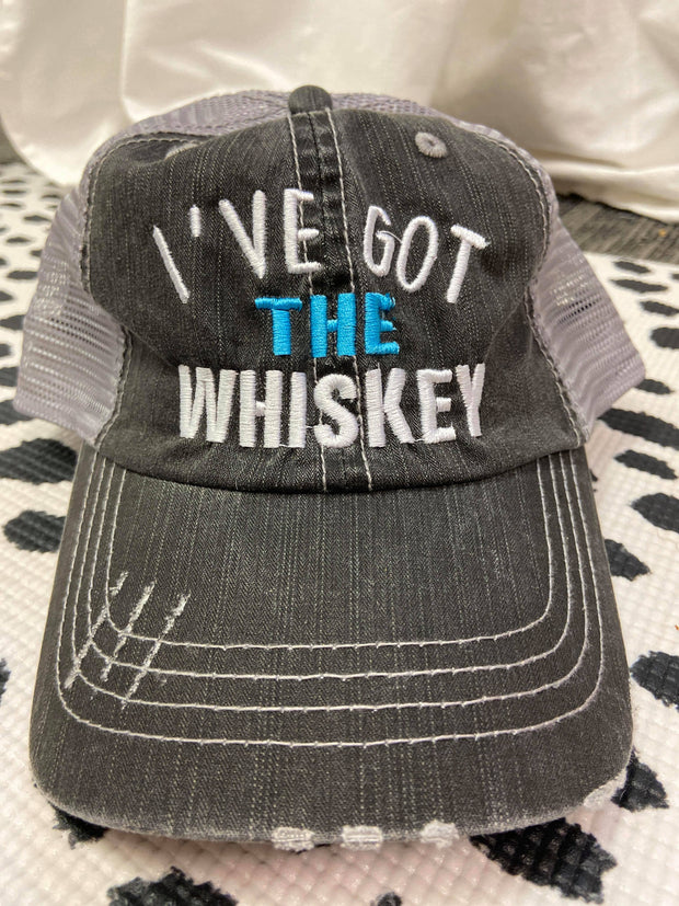I've Got The Whiskey | Trucker Hat, ACCESSORIES, BAD HABIT APPAREL, BAD HABIT BOUTIQUE