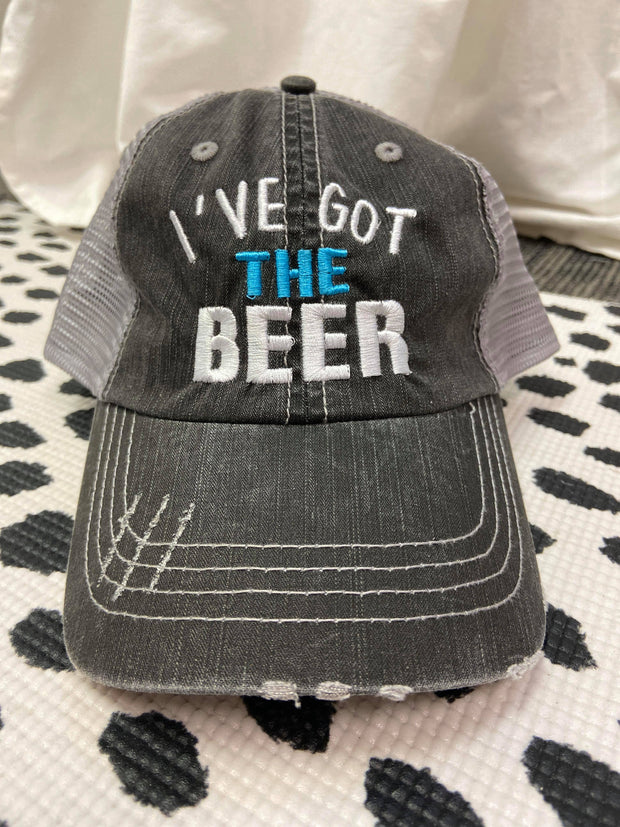 I've Got The Beer | Trucker Hat, ACCESSORIES, BAD HABIT APPAREL, BAD HABIT BOUTIQUE
