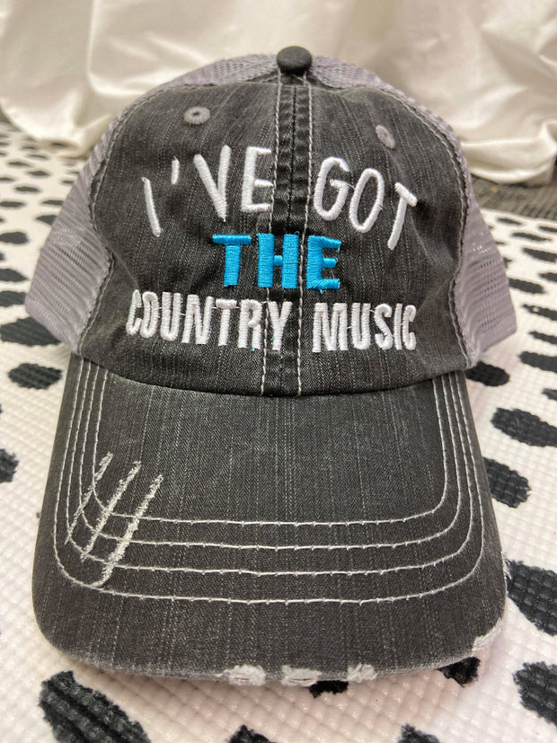 I've Got The Country Music | Trucker Hat, ACCESSORIES, BAD HABIT APPAREL, BAD HABIT BOUTIQUE