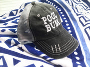 POOL BUM HAT | WHITE, ACCESSORIES, BAD HABIT APPAREL, BAD HABIT BOUTIQUE