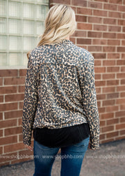 Cheetah Print Jacket, SALE, Annabelle, badhabitboutique