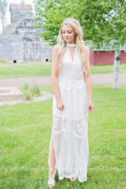 Maxi Lace Dress, DRESSES, vendor-unknown, badhabitboutique