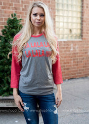 FaLaLa Wine Shirt, CLOTHING, BAD HABIT APPAREL, BAD HABIT BOUTIQUE