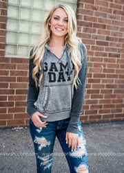 Game Day Colorblock Hoodie, GAMEDAY, BAD HABIT APPAREL, badhabitboutique