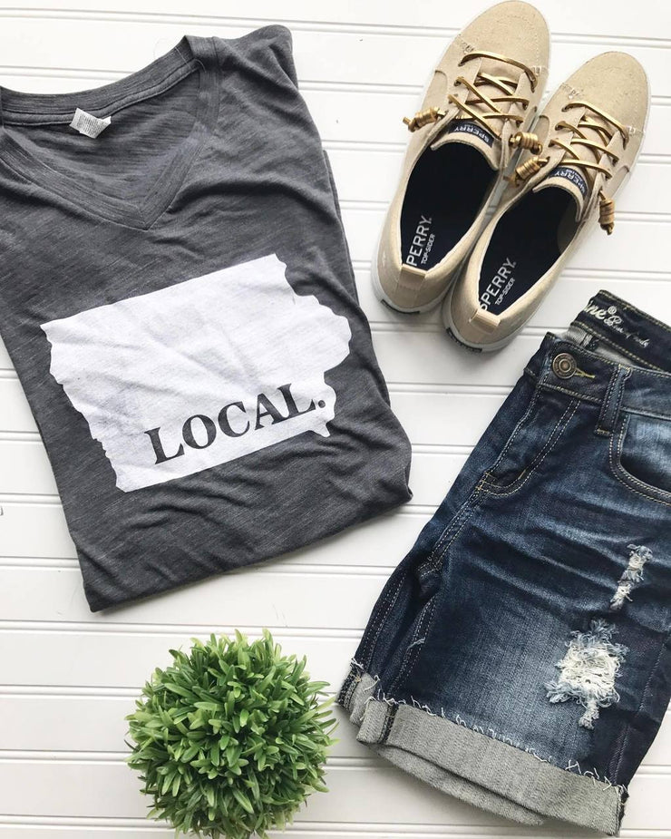 Iowa Local Unisex Tee, GRAPHICS, BHB Apparel, badhabitboutique