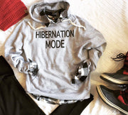 Hibernation Mode Hoodie | Dark Gray, CLOTHING, BAD HABIT APPAREL, BAD HABIT BOUTIQUE