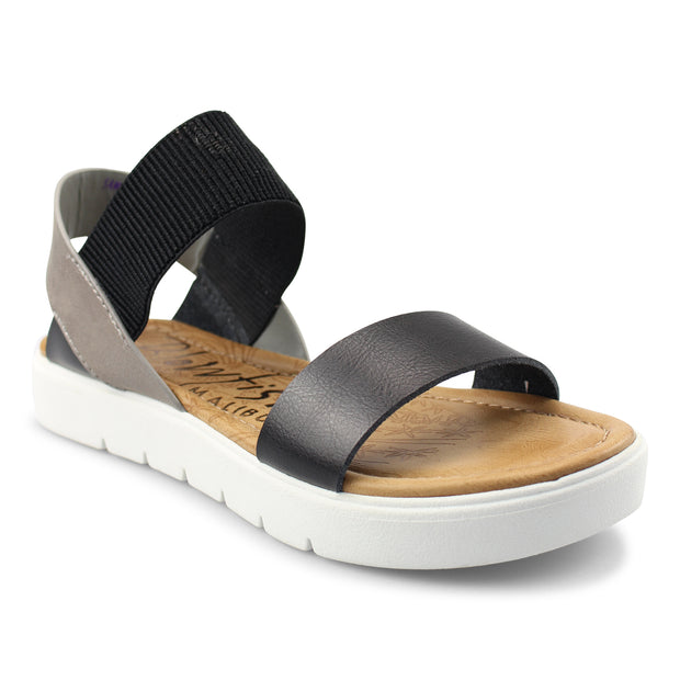 Boss Two Tone Sandals-BLOWFISH | FINAL SALE, SHOES, Blowfish, BAD HABIT BOUTIQUE