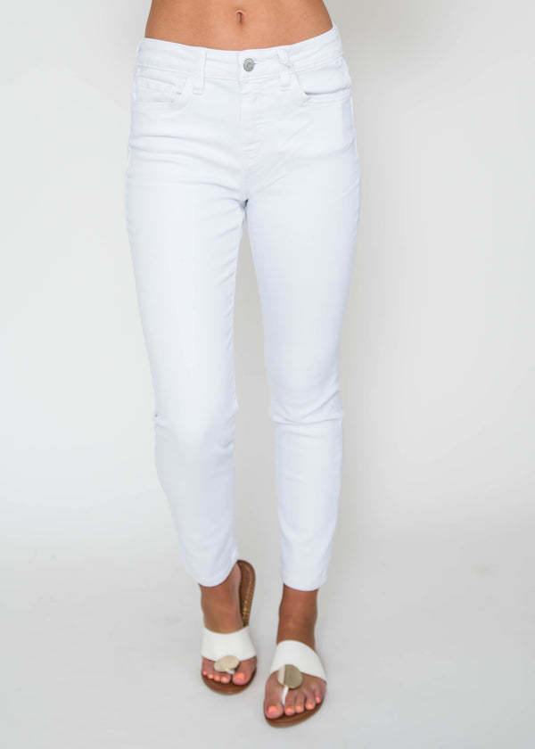 Mid-Rise Crop Skinny Jeans - Flying Monkey | FINAL SALE, CLOTHING, FLYING MONKEY, BAD HABIT BOUTIQUE