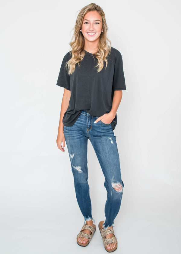 Basic T-Shirt | SALE, CLOTHING, HyFve, BAD HABIT BOUTIQUE