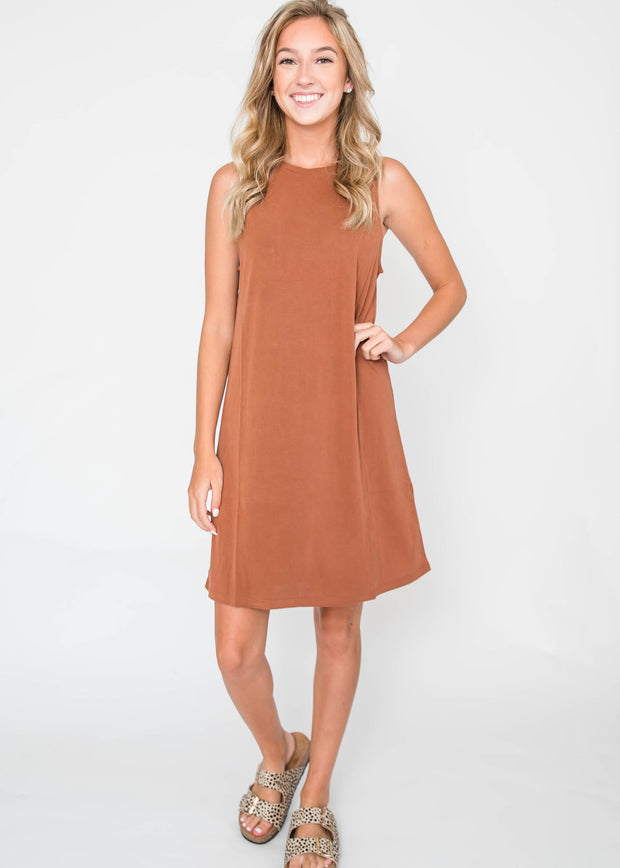 The Slick Sleeveless Midi Dress, CLOTHING, HyFve, BAD HABIT BOUTIQUE