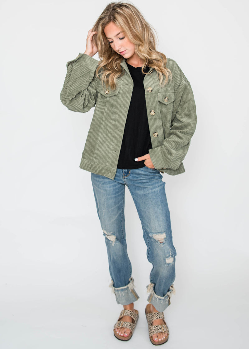 Corduroy Jacket | FINAL SALE, CLOTHING, HyFve, BAD HABIT BOUTIQUE
