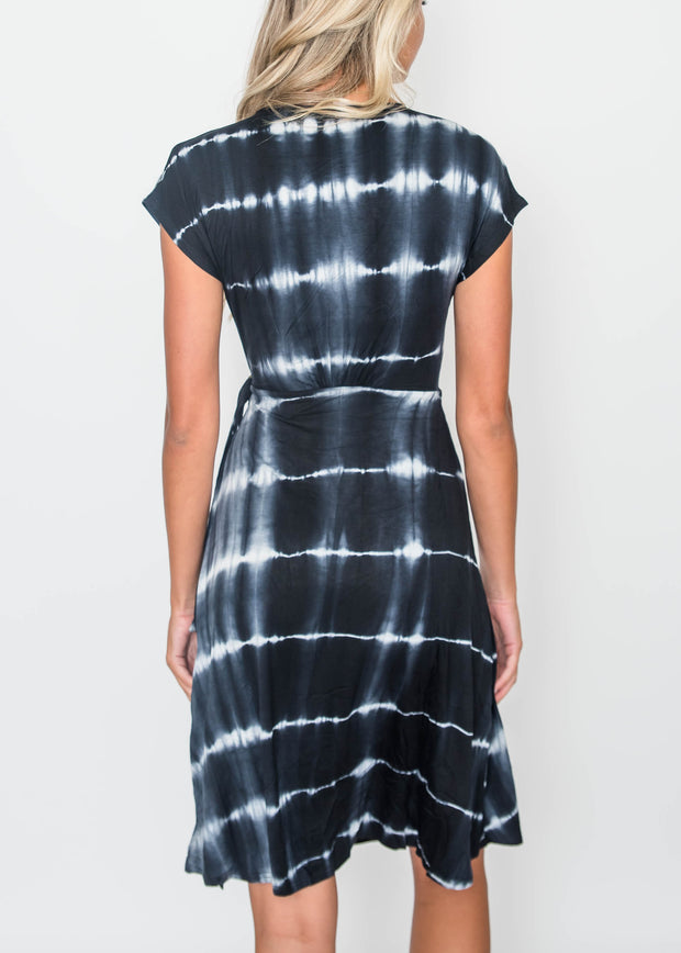 Black Tie Dye Dress | FINAL SALE, CLOTHING, HyFve, BAD HABIT BOUTIQUE
