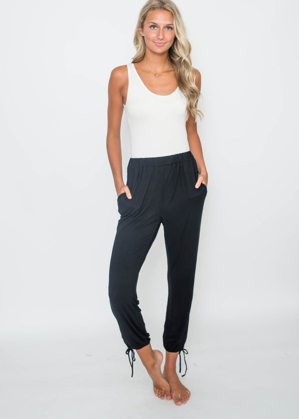 Black Joggers, CLOTHING, HyFve, BAD HABIT BOUTIQUE