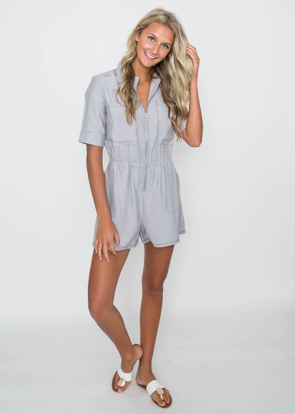 Time for Adventure Utility Romper | FINAL SALE, CLOTHING, HyFve, BAD HABIT BOUTIQUE