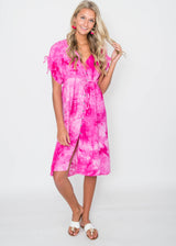 Saguaro Tie Dye Dress | FINAL SALE, CLOTHING, HyFve, BAD HABIT BOUTIQUE