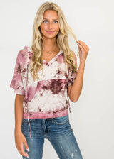 Comfy Spunk Tie Dye Hoodie - Final Sale, CLOTHING, Cherish, BAD HABIT BOUTIQUE