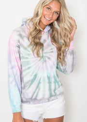Cloud Bomb Tie Dye Hoodie | FINAL SALE, CLOTHING, Exist Sport Line, BAD HABIT BOUTIQUE