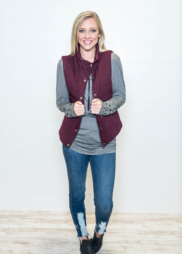 My Favorite Vest - BAD HABIT BOUTIQUE