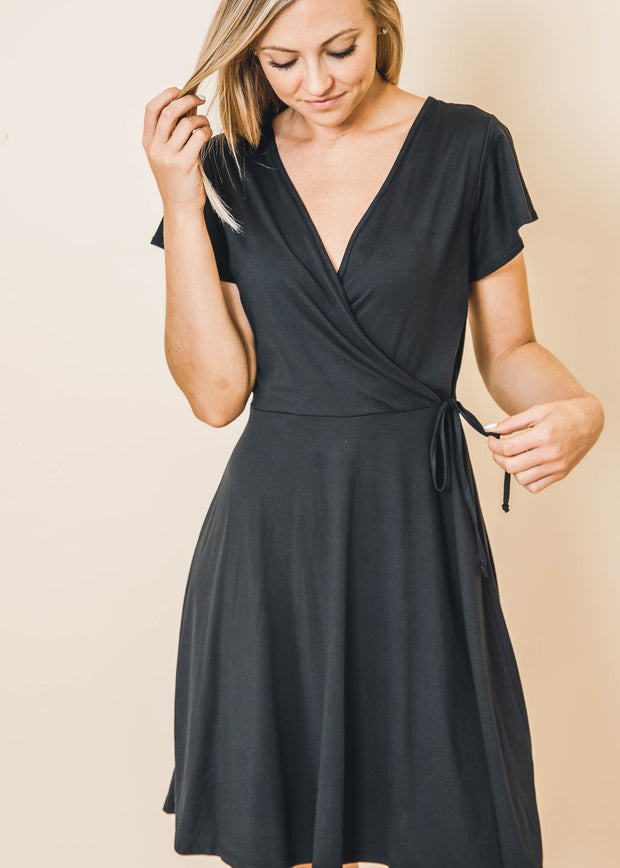 Criss Cross Wrap Dress | Gilli | FINAL SALE