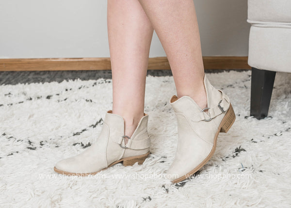 Stone Harness Bootie  -Sochi-27 - FINAL SALE, SHOES, East Lion Corp, BAD HABIT BOUTIQUE