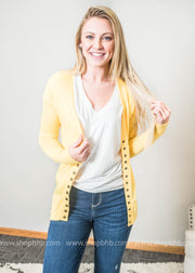 Snap Front Cardigan