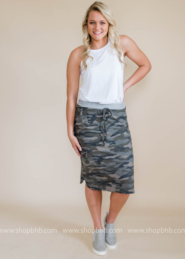Camo Pocket Skirt