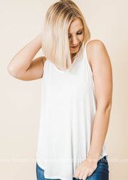 Sleeveless Basic Tank Top - Final Sale