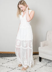 Maxi Lace Dress-FINAL SALE