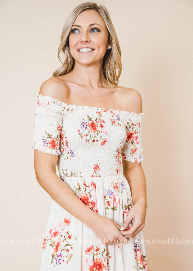 Promise To Love You Floral Maxi Dress is perfect for summer weddings