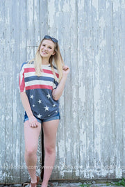 Stars and Stripes Forever Top-FINAL SALE