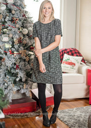 The perfect Holiday Tweed Dress just launched on Bad Habit Boutique.