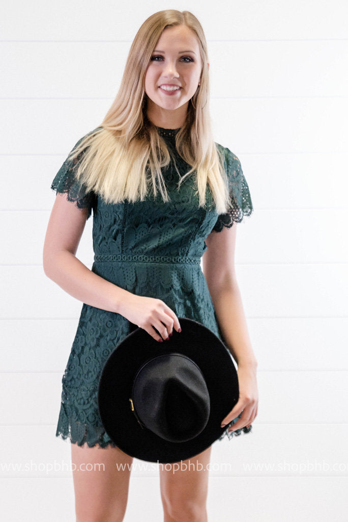 Belted Panama Hat, HATS, Olive & Pique, BAD HABIT BOUTIQUE