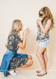Sidekick Collection: Camo Tank Top Kids | Tween FINAL SALE
