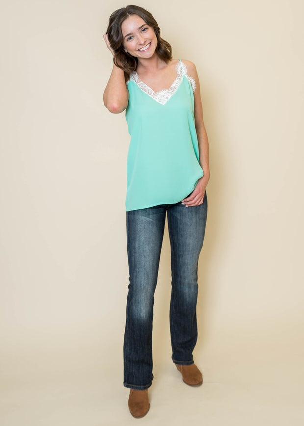 Lace Trim Camisole - Final Sale