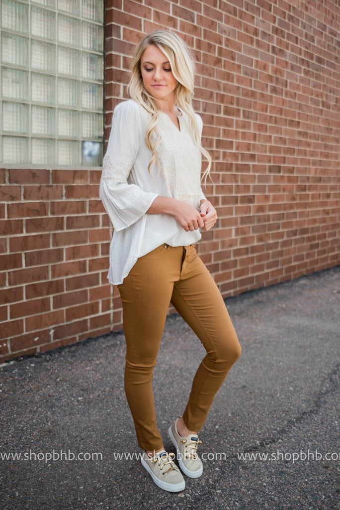 Skinny Colored Jeggings FINAL SALE